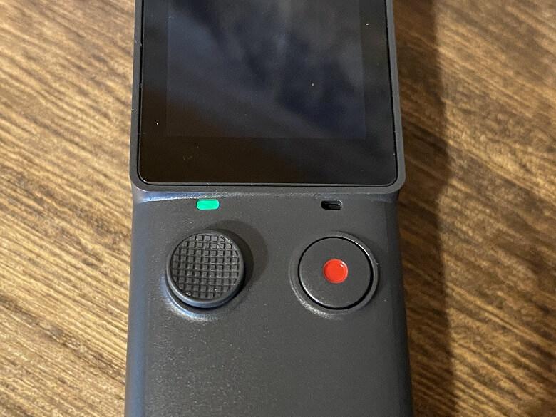 FIMI PALM 3軸ジンバルカメラ インジケーター点灯