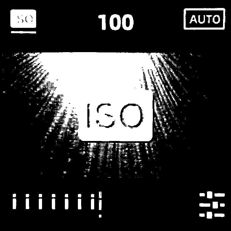 FIMI PALM 3軸ジンバルカメラ ISO感度