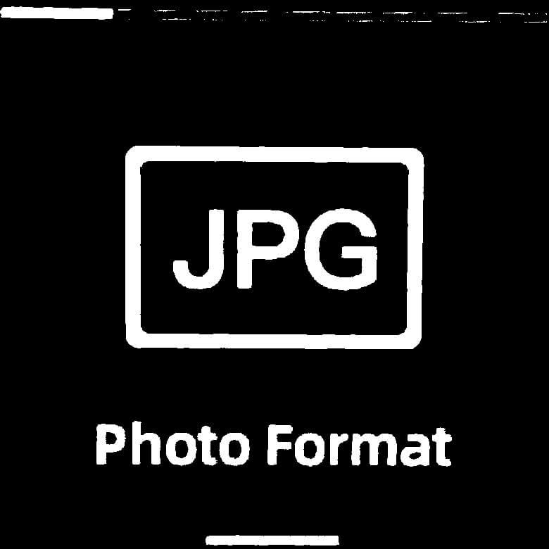 FIMI PALM 3軸ジンバルカメラ 画像フォーマット