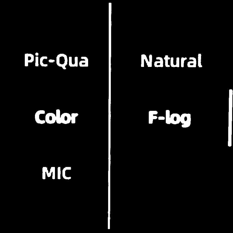 FIMI PALM 3軸ジンバルカメラ 色調