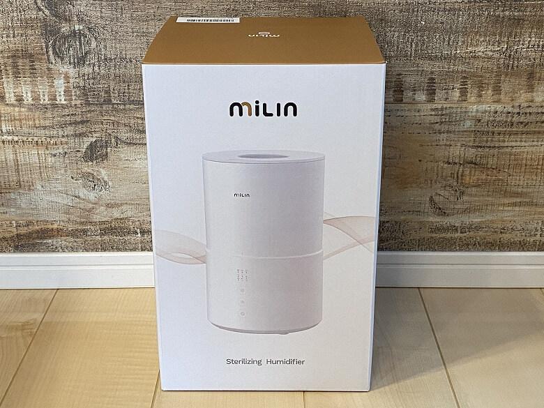 Milin 除菌加湿器 外箱
