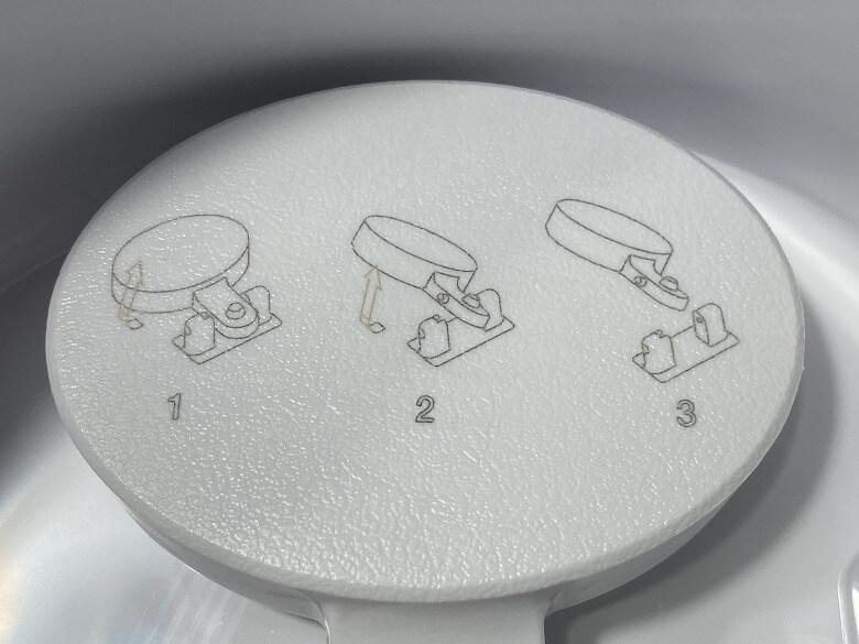 Milin 除菌加湿器 浮き