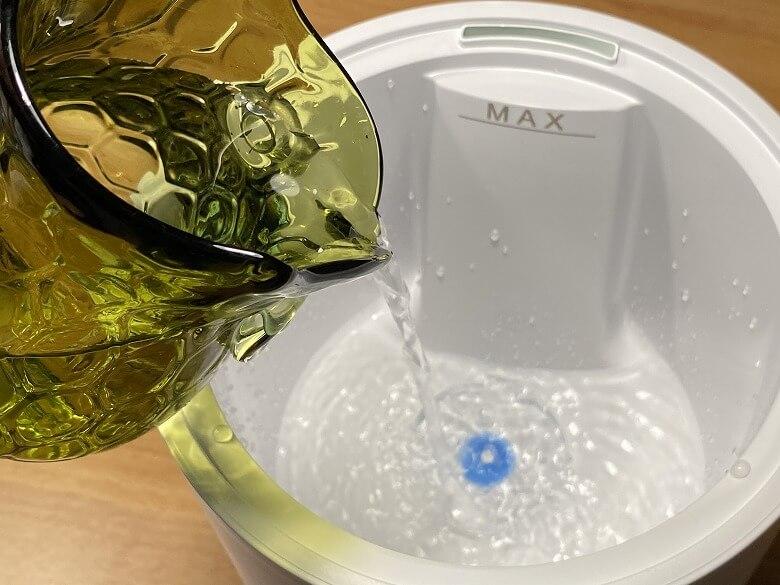 Milin 除菌加湿器 給水