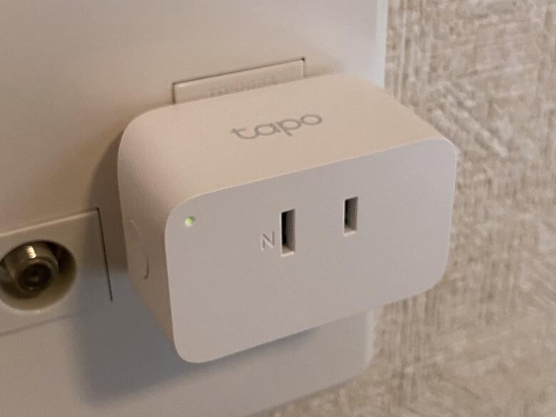 Tapo P105 コンセントに接続