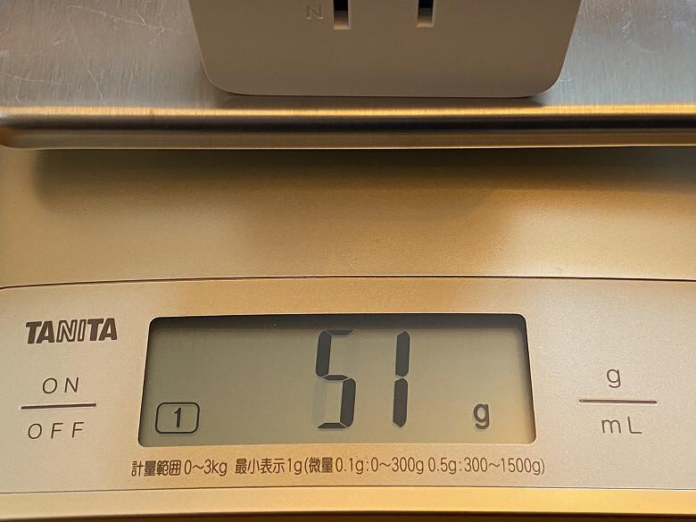 Tapo P105 重さ