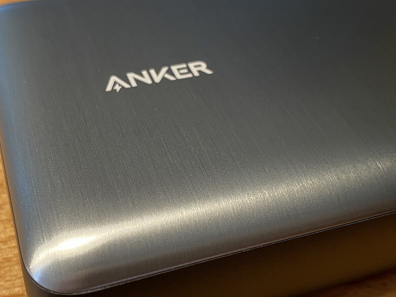 Anker PowerCore III Elite 25600 87W 表面の仕上げ