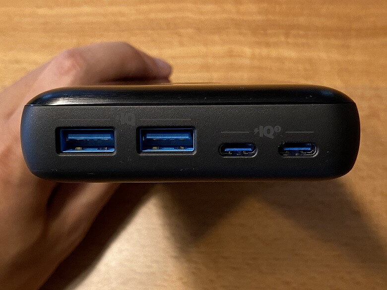 Anker PowerCore III Elite 25600 87W 各ポート