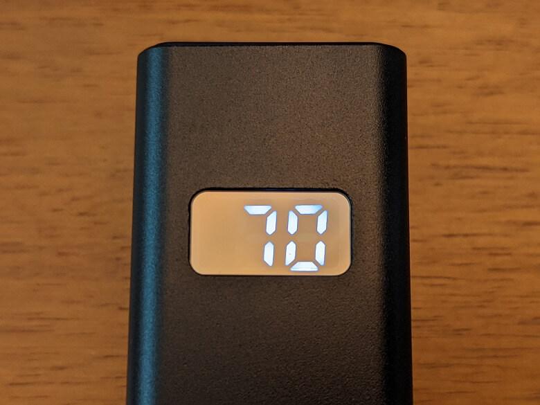 オキュラスクエスト用バッテリーキット バックヘッドスタイル 5000mAh 液晶パネル