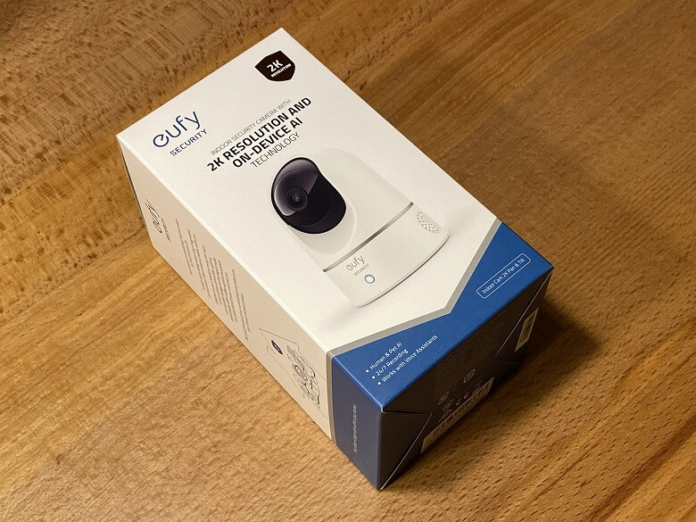Eufy IndoorCam 2K Pan & Tilt 外箱