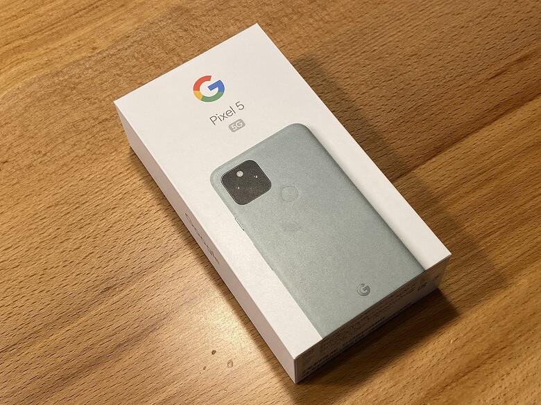 Google Pixel 5 外箱