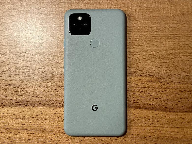 Google Pixel 5 背面
