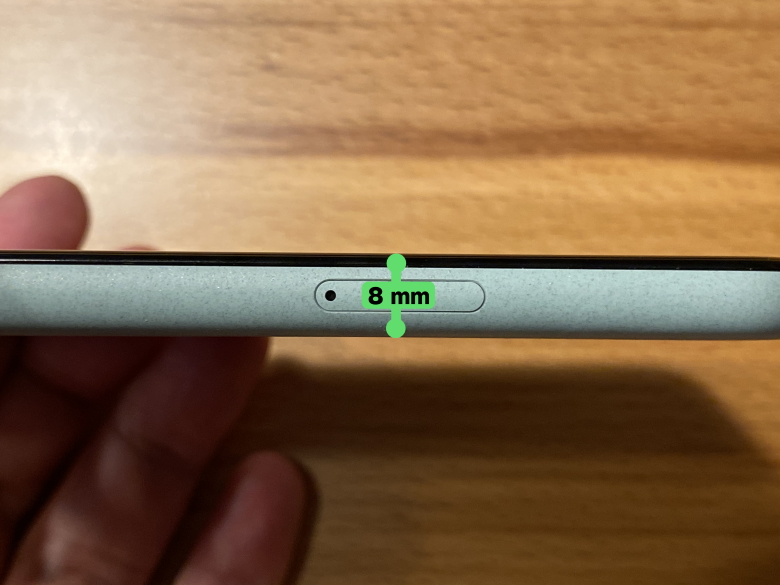 Google Pixel 5 厚さ