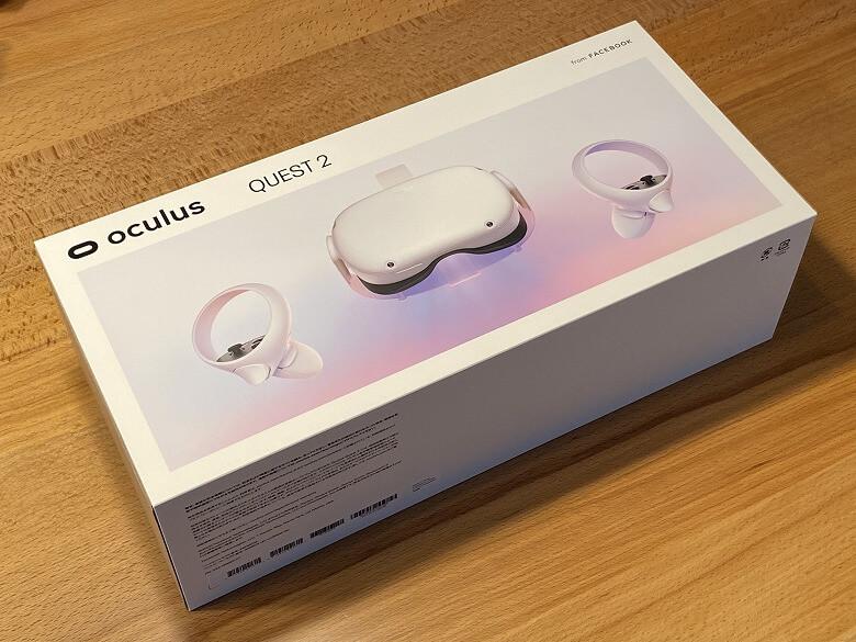 Oculus Quest 2 外箱