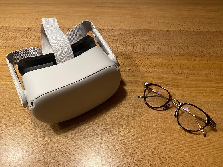 Oculus Quest 2 メガネ