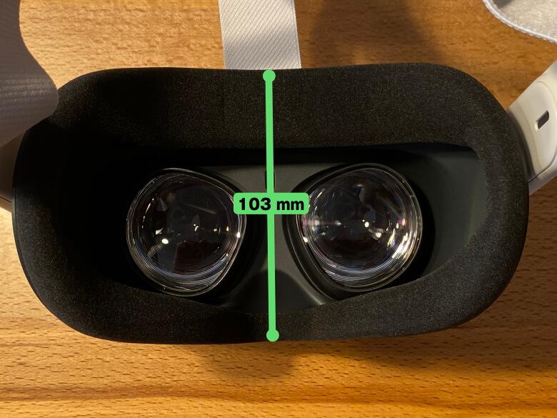 Oculus Quest 2 厚さ