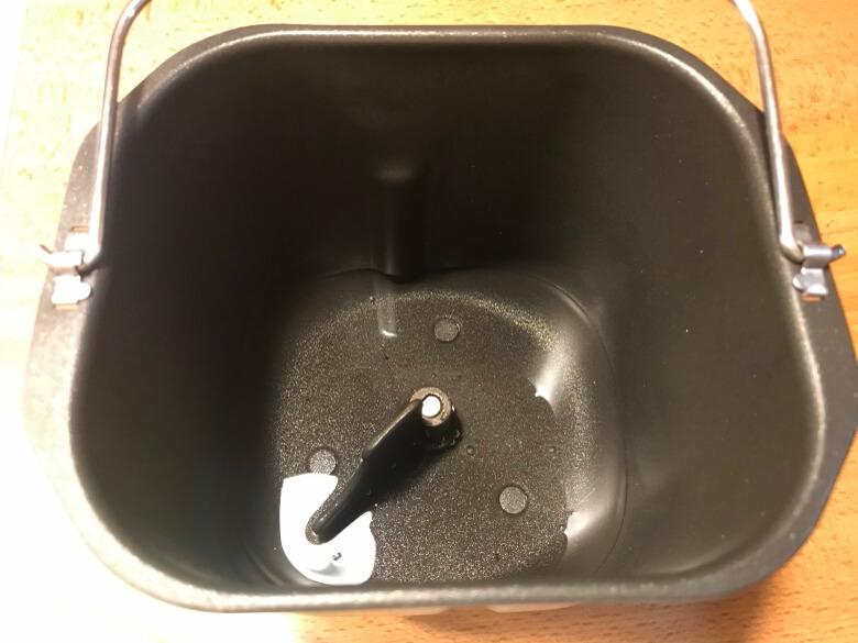 siroca おうちベーカリー SB-1D151 水を入れる