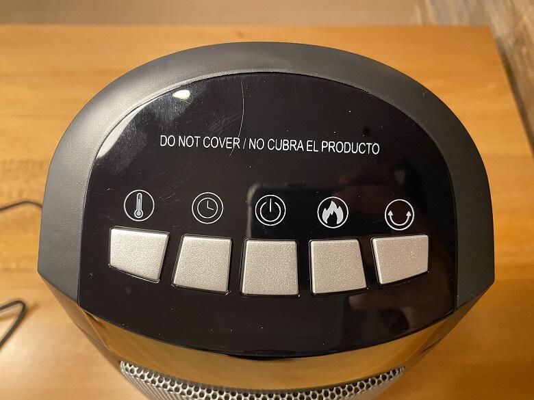 TaoTronics TT-HE004 コントロールボタン