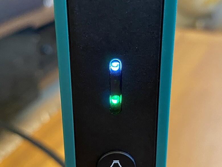 IPEVO VZ-R LEDインジケーター
