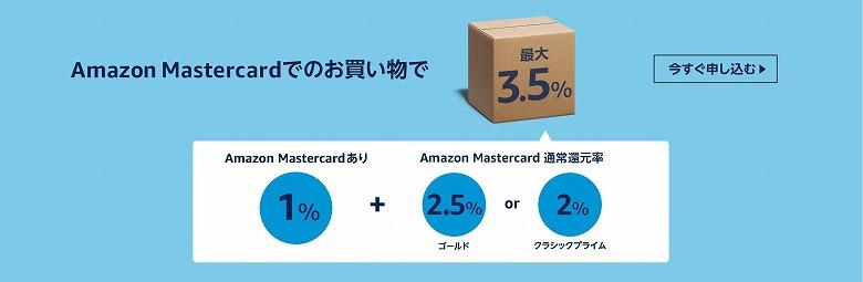 Amazonプライムデー Amazon Mastercard