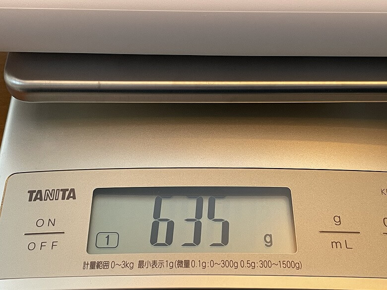Anker PowerPort Strip PD 6 重さ