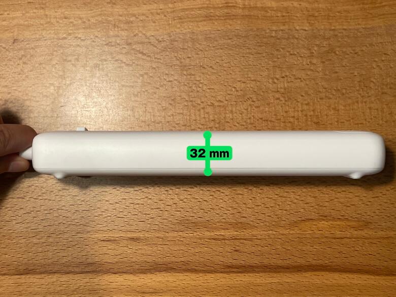 Anker PowerPort Strip PD 3 厚さ