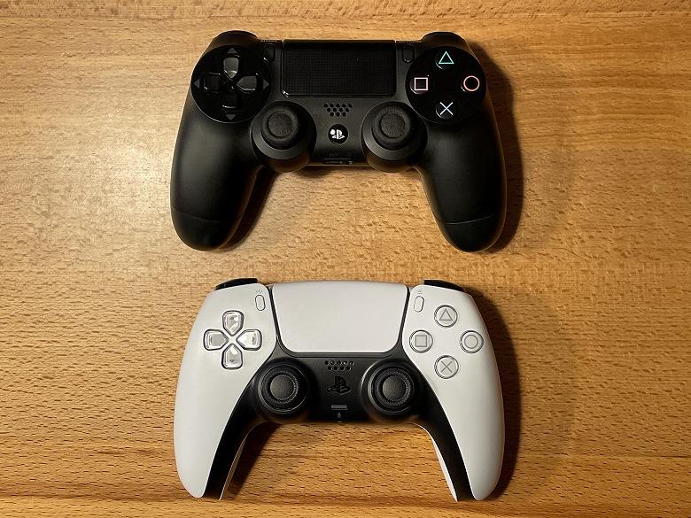 PlayStation 5 DualSenseをDUALSHOCK 4と比較