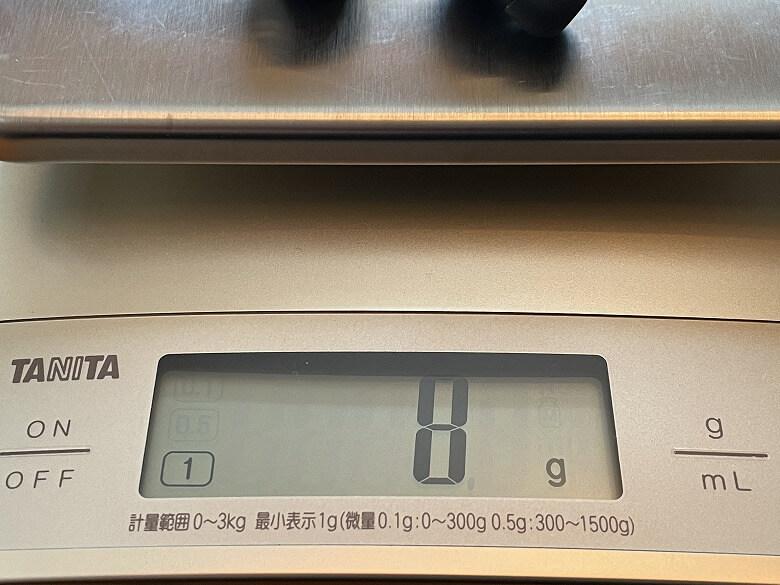 TaoTronics SoundLiberty 97 イヤホン重さ