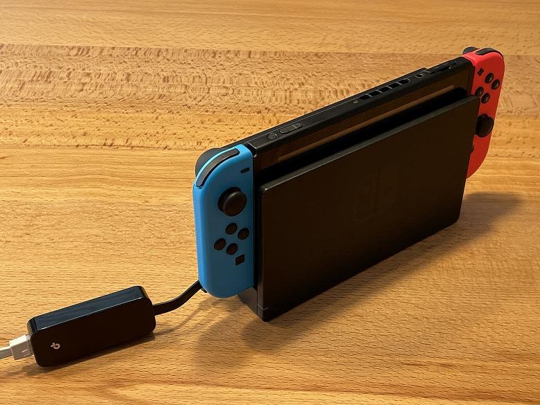TP-Link UE305 Nintendo Switchと接続