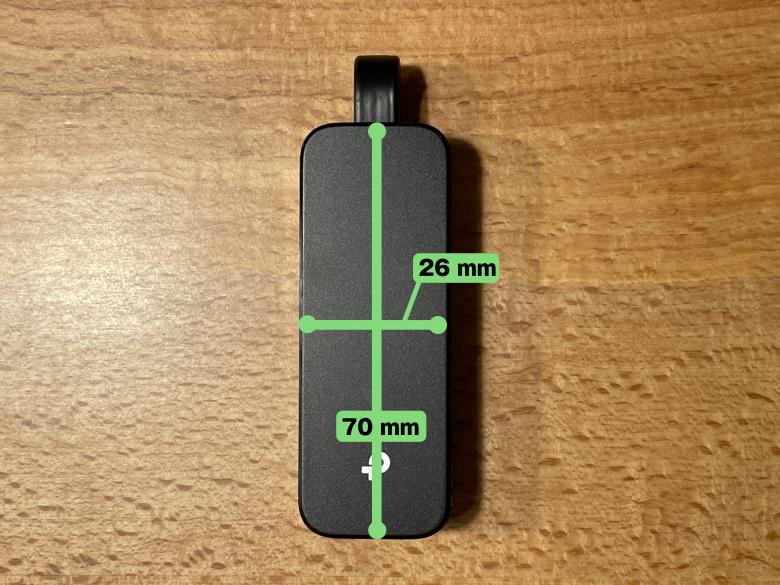 TP-Link UE305 サイズ