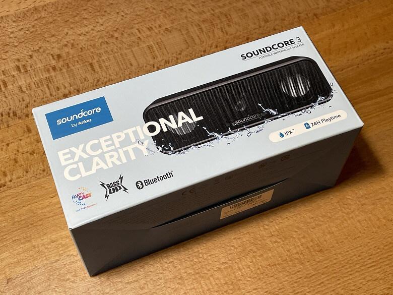 Anker Soundcore 3 外箱
