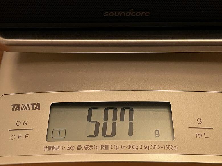 Anker Soundcore 3 重さ