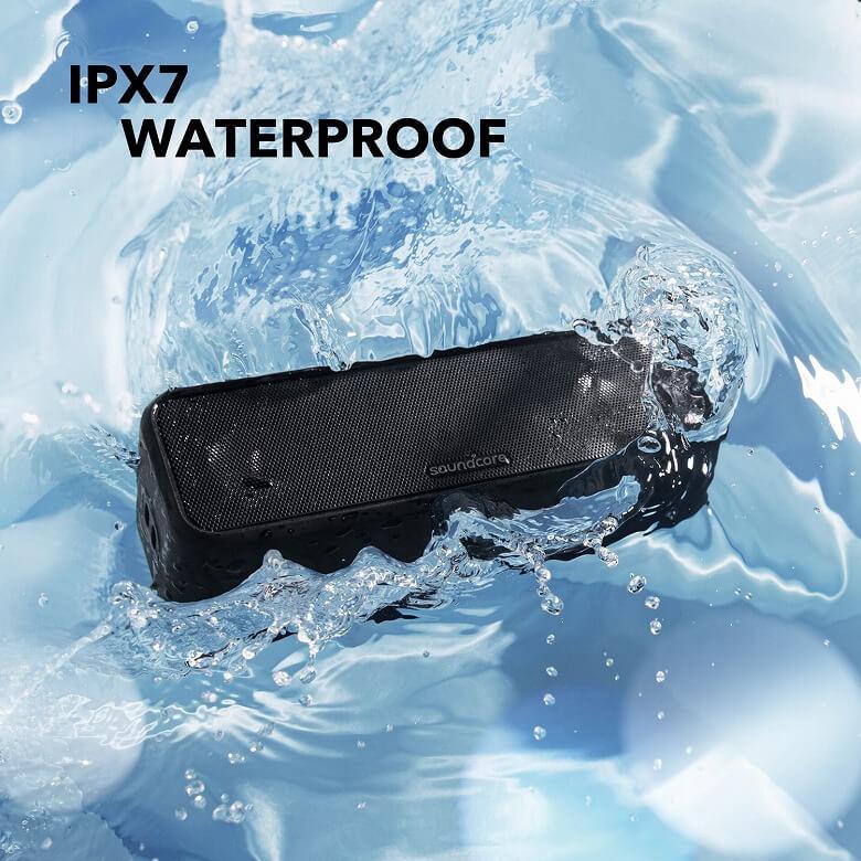 Anker Soundcore 3 防水性能