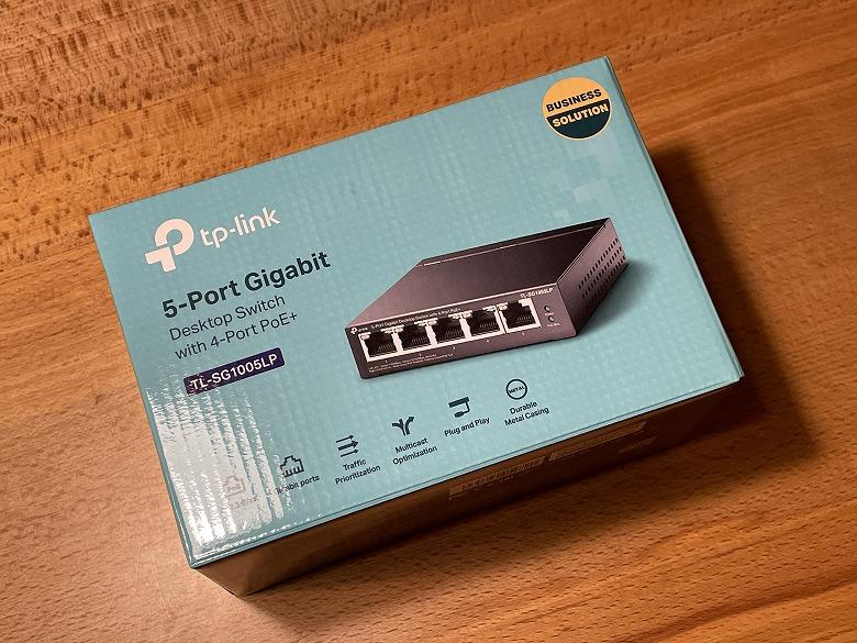 TP-Link TL-SG1005LP 外箱
