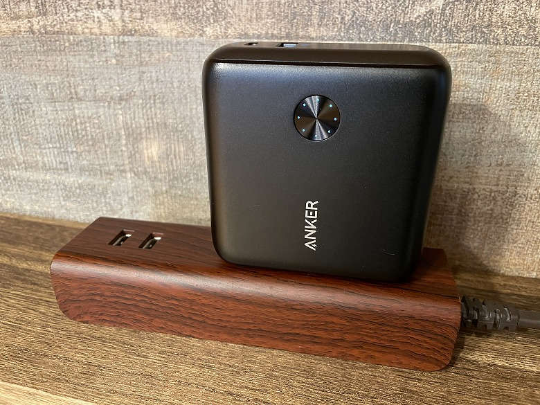Anker PowerCore Fusion 10000 コンセント接続
