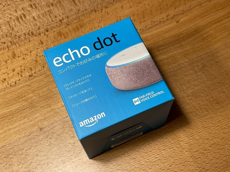 Amazon Echo Dot 第3世代 外箱