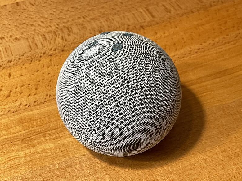 Amazon Echo Dot 第4世代 外観