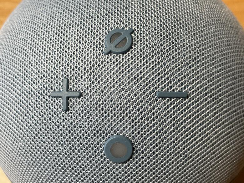 Amazon Echo Dot 第4世代 各種ボタン