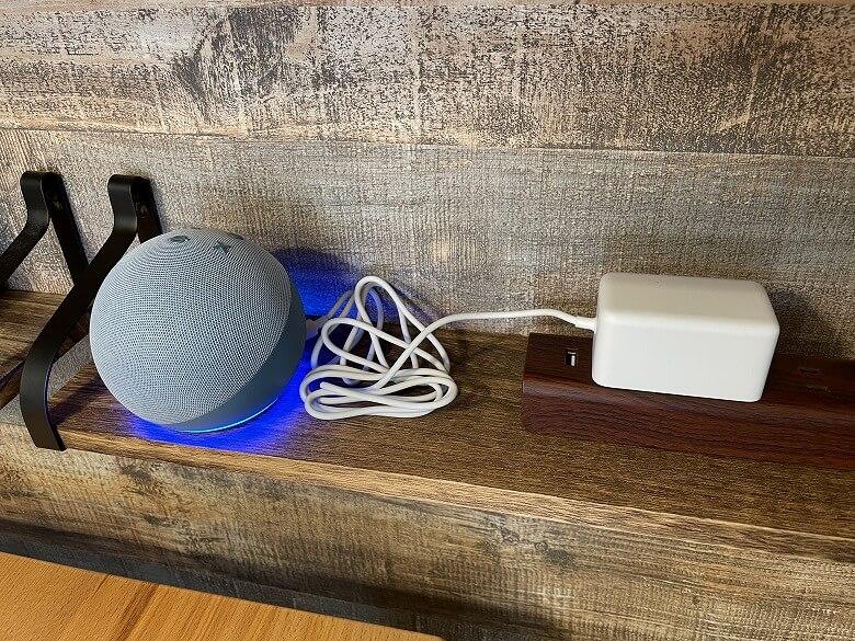 Amazon Echo Dot 第4世代 電源ON