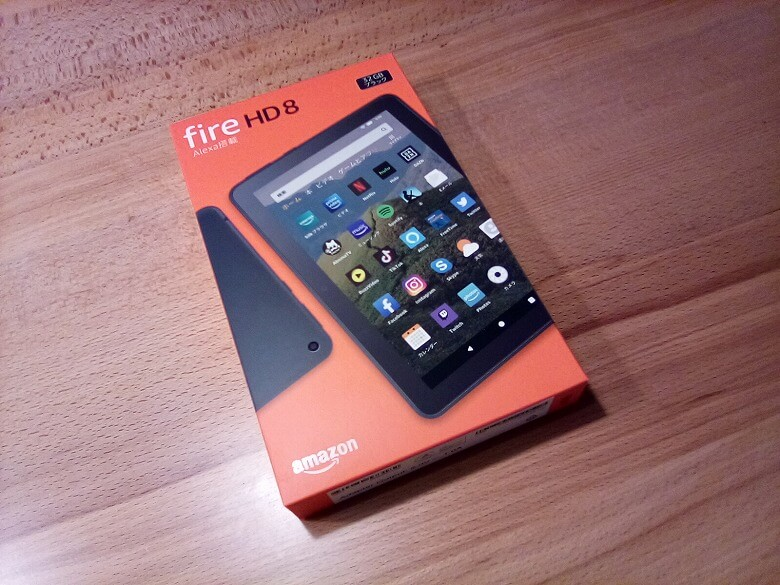 Amazon Fire HD 8 カメラ