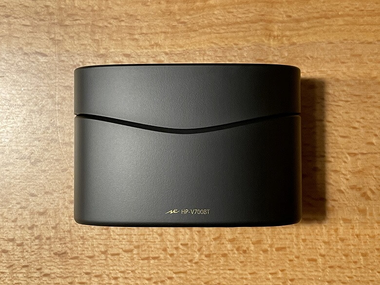 radius HP-V700BT 充電ケース正面