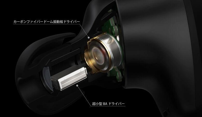 radius HP-V700BT BAドライバー