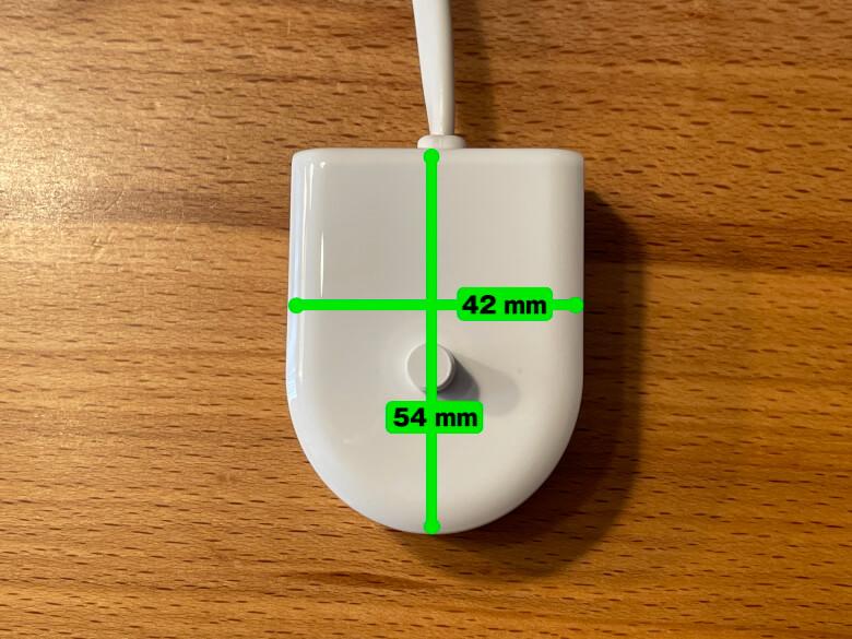 Philips ソニッケアー プロテクトクリーン 充電器サイズ