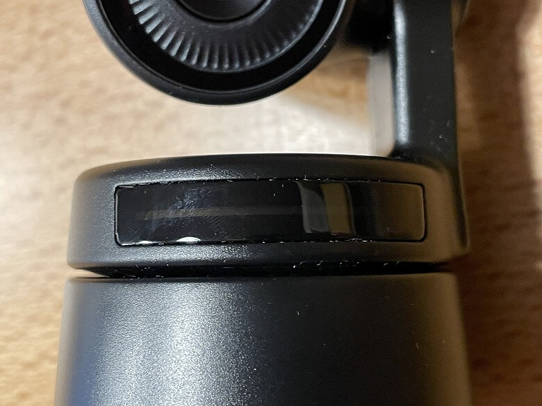 OBSBOT Tiny カメラインジケーター